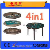 4in1 Entertainment table poker table multi table game