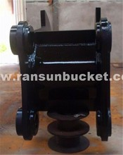 RanSun core products NM400 Material Stump Puller