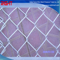 Quality Premium Hot Dip Galvanized Chain Link Fence Post Diameter For Sale Factory