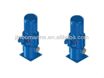 CLZ/2 Series marine vertical self-priming two-stage double-outlet centrifugal pump