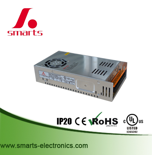 OEM available high quality ac 110v 220v dc 12v 24v 300w power supply