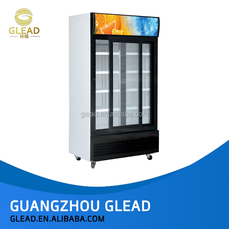 New arrival commercial display cake refrigerator show case