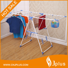 JP-CR109PS Popular style lifting potable folding metal clothes hanger drying rack