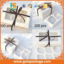 Custom Best Seller Decorative Recyclable Cake Slice Paper Box