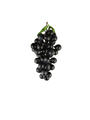 plastic grapes decoration 45pcs grapes