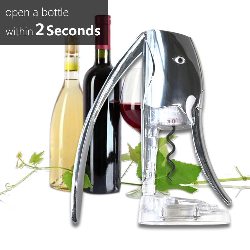 New Desigh Professional Promotional Deluxe Bottle USB Electric Corkscrew Wine Opener