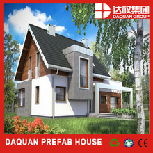 low cost Modern house design Luxury villa and prefabricated house/villa at low cost made by eps cement sandwich panel in China