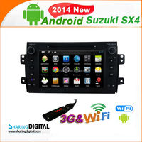 7 inch capacitive screen Android car dvd GPS For Suzuki SX4 2006-2012 car audio car dvd player