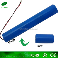18103 3s lipo battery/11.1v 1000mAh battery/lithium ion Cylindrical Battery for baby toys