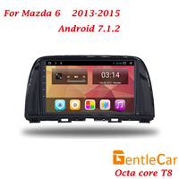 9 inch full touch screen T8 Octa core Android 7.1 Car play auto navi DVD player for Mazda 6