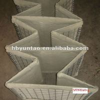 Military and Flood prevention Galvanized Hesco Fence