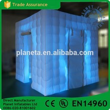 Promotional Led Inflatable Cube Photo Booth Tent For Sale