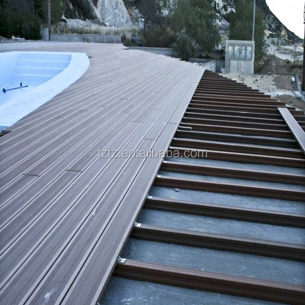 WPC DECKING/ HDPE WPC DECKING BOARD/WOOD PLASTIC COMPOSITE DECK