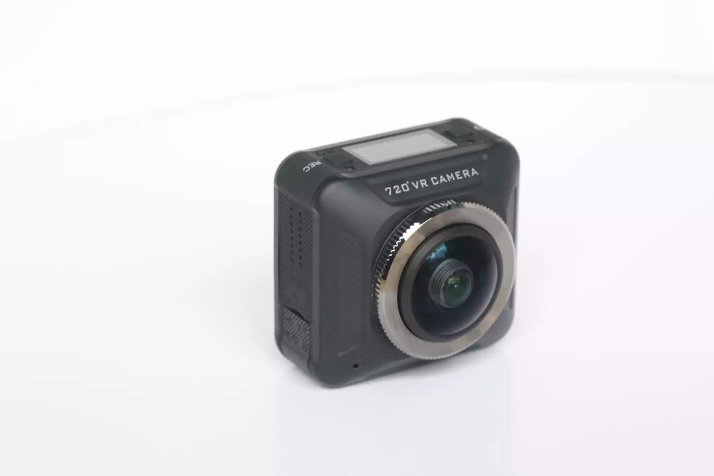 new design be unique dual lens cams 360 degree Action camera
