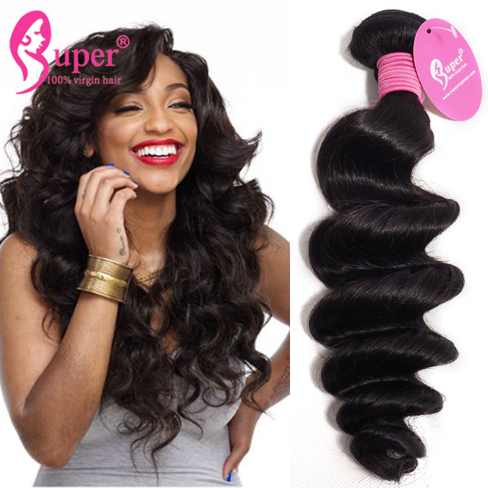 3 Bundles With Closure Cheap Double Drawn Virgin Human Hair From Very Young Girls
