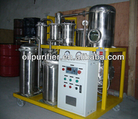 Explosion-proof Frying Oil biodiesel making machine,Turbine Oil Filter System with vacuum oil recycling plant