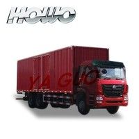 china famous Howo van cargo truck 336hp
