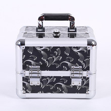 OEM beauty trolly makeup acrylic suitcases packaging style cosmetics case