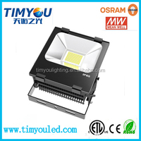 waterproof ip65 dimmable high lumen high power 50w 100w 150w 200w led outdoor flood light