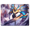 magic fighting game mat, card game play mat