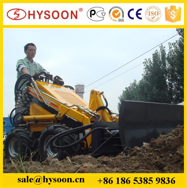 small manufacturing machines mini track skid steer loader