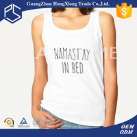 Sleeveless women wholesale t-shirts bulk cheap t shirts printing