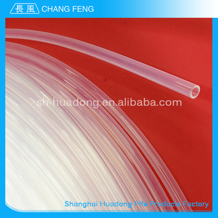 Transparent highly temperature resistant ptfe tube/virgin ptfe tube/ptfe teflon tube