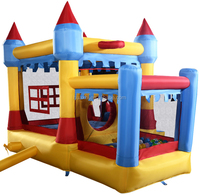 Home Use Blue portable high quality Inflatable Bouncy Castle