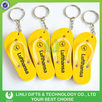 Colorful Custom logo Flip Flops EVA Foam Keychain,EVA Floating Keyring