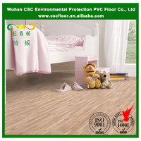 Wood Look PVC Flooring Plank for Living Room, Kitchen
