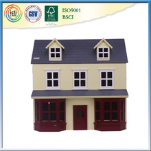 Diy wholesale craft supplies is popular kids wooden house