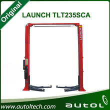 100% Original and durable LAUNCH TLT235SCA used motorcycle 2 post asymmetric movable hydraulic car lift