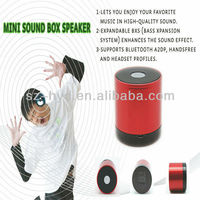 High Quality Sound Mini Sound Box Portable Speaker For Cell phones, PDAs, MP3 Players, PCs, Laptops
