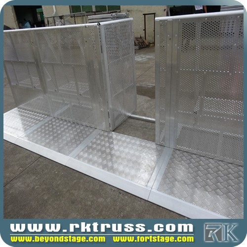 RK used events security crowd control barriers for sale /car display crowd control barriers