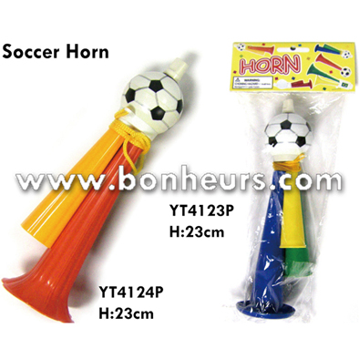 New Novelty Toy Cheerleading Soccer Horn With Necklace