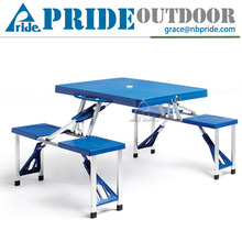 Metal Aluminum Promotion Outdoor Foldable Camping Modern Dining Folding Table