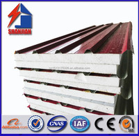 2015 hot sale EPS sanwich panel for prefab house,container house