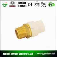 Lead Free Brass CPVC Transition Coupling