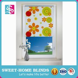 One Way Printed Rolling Security Shutter / Window Blinds / Roller Shutter Price
