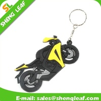 PVC Rubber Cool Keyring Motorcycle Model Keychain