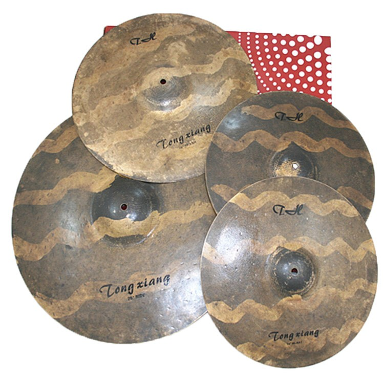 TH-A Series cymbals set :14-hihat 16-crash 18-ride 20-ride