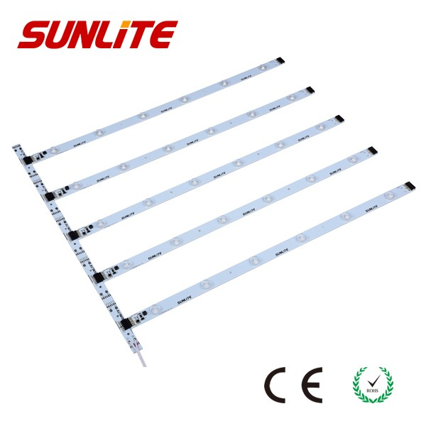 Aluminum Profile LED Strip Light Bar SMD 3030 6 leds Warm White 3 Years Warranty