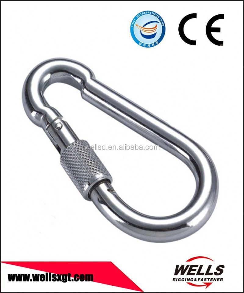 stainless steel large snap hook for security connection