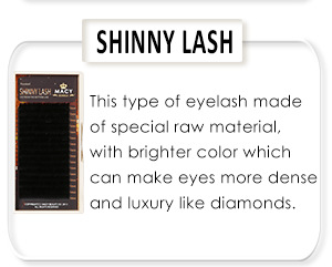Top Quality False Rainbow Eyelash Eyelash Extension