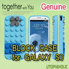 BLOCK CASE Blue for GALAXY S3