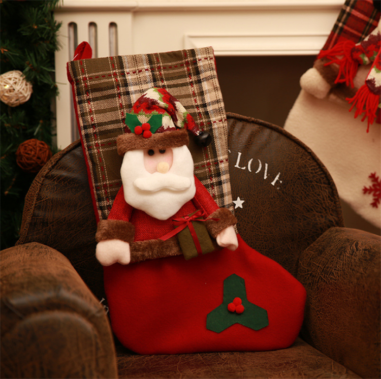 Low MOQ wholesale christmas stockings