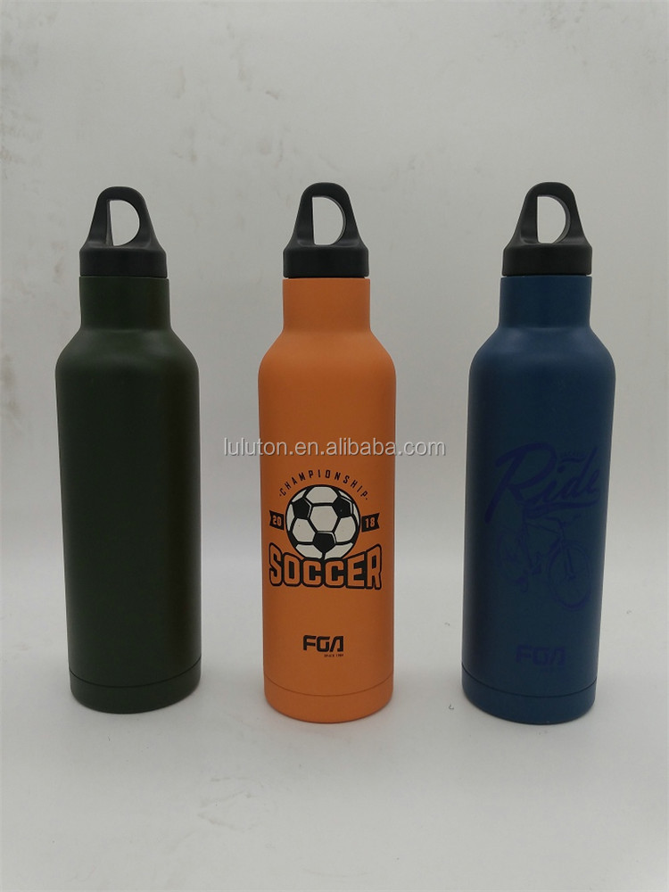 BPA Free Flex Cap Double Wall Vacuum Insulated Stainless Steel Leak Proof Sports Water Bottle Flask