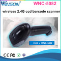 Cheap Android Handhled Mini Wireless 1D 2.4G infrared CCD Barcode Scanner