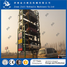 car parking lift smart rotary car parking system