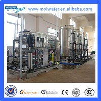 Automatic PLC control medical/chemical/electron industry water reverse osmosis system china